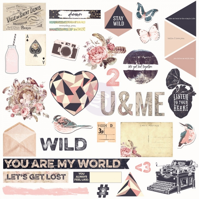 Chipboard & More Wild & Free