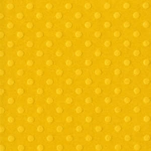 Papel Cardstock Bazzill Dotted Swiss Honey