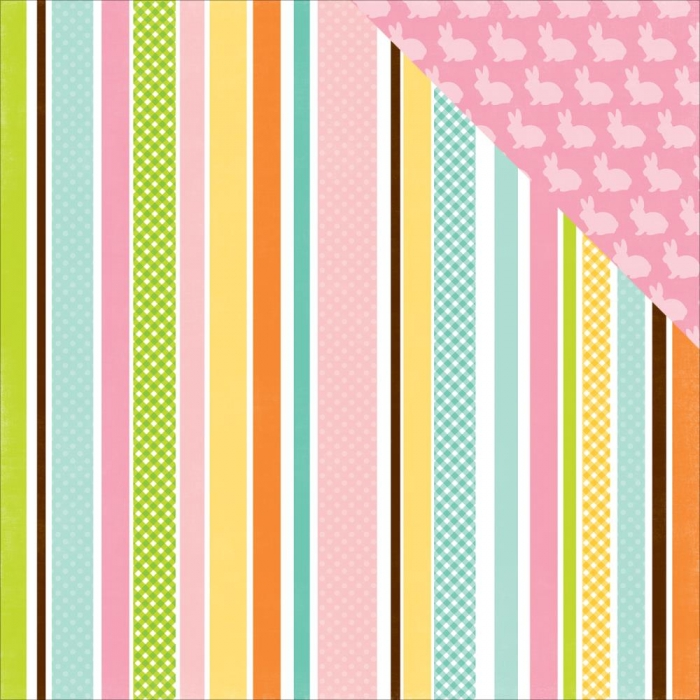 Papel Easter Stripe / Páscoa