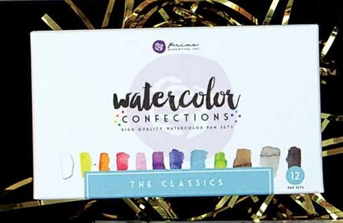 Watercolor Confections - Classics