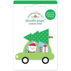 Pops 3D Stickers Here Comes Santa Claus Special Delivery